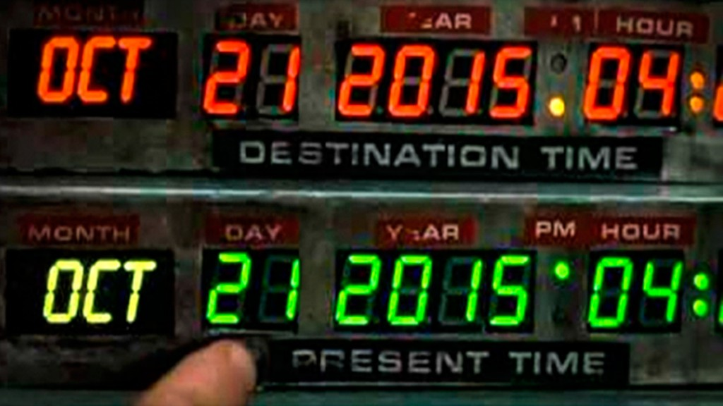 21-10-2015 Back to the Future Day