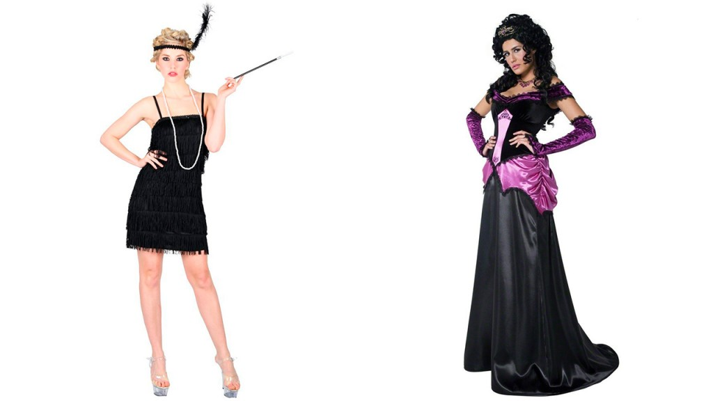 20's Flap dress & Countess of the Castle Costumes