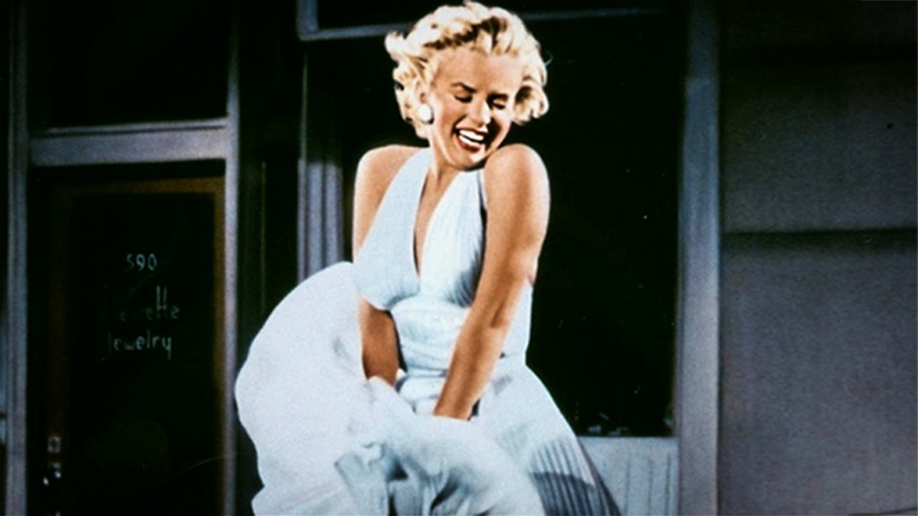 Marylin Monroe White Dress