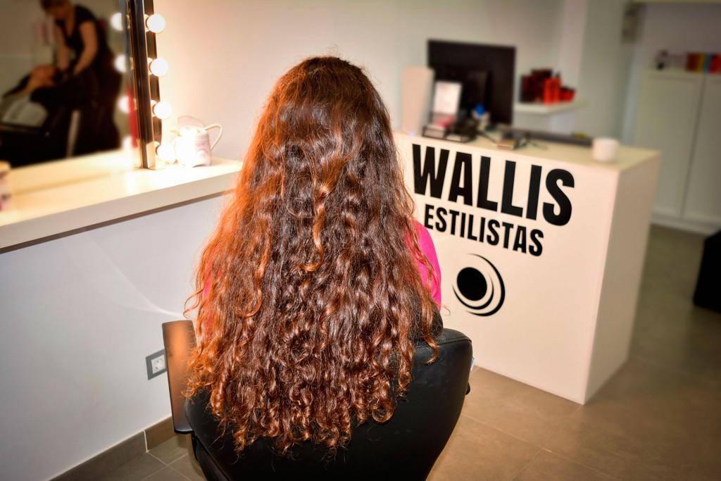 Ariana before Wallis Estilistas - Beauty Salon
