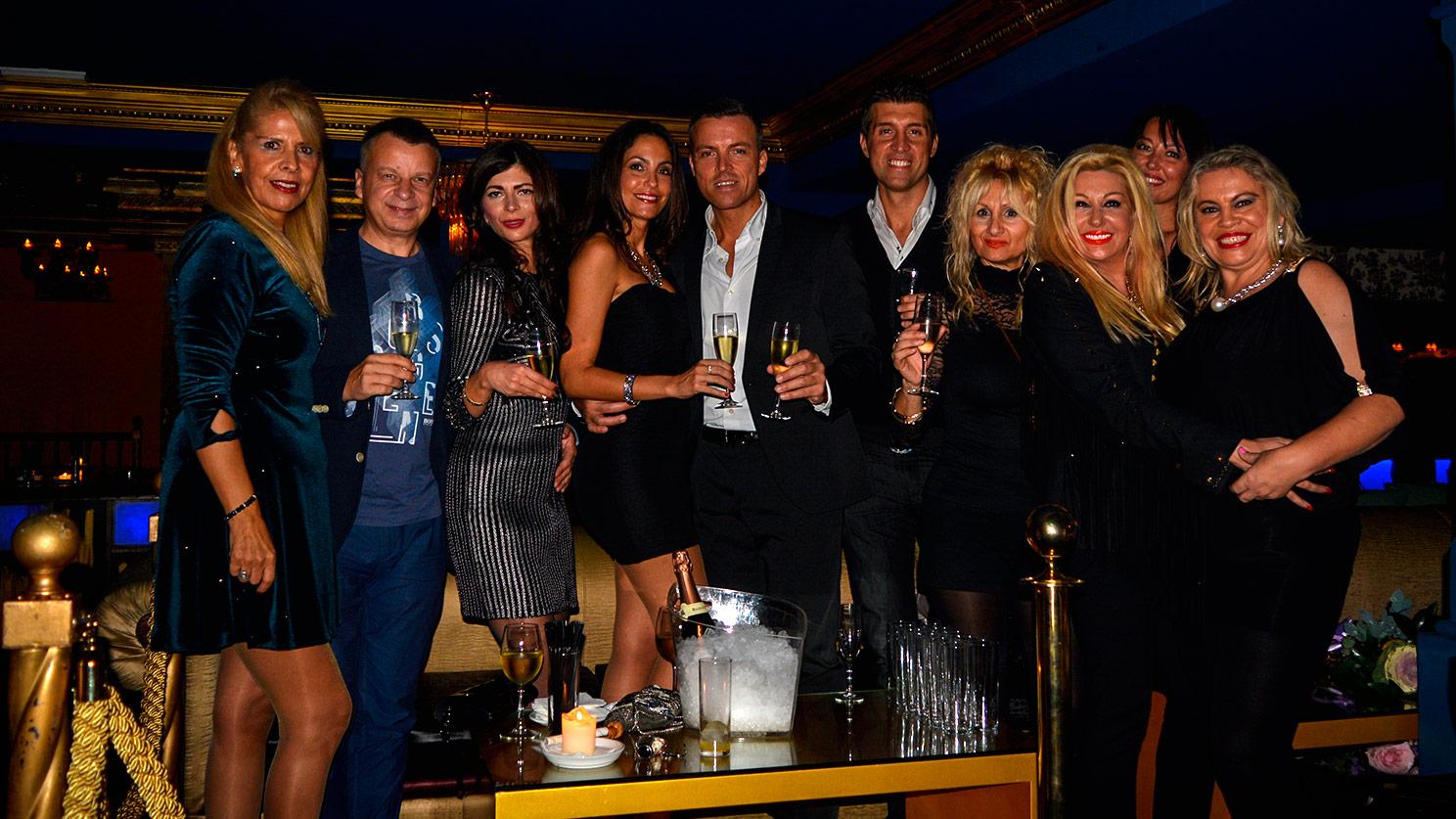 Ariana's Birthday Party at Opera Room Disco Club - Marbella