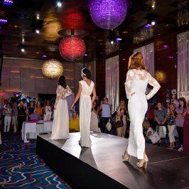 Desirée at Confeti Wedding Show - Sunborn Gibraltar www.arianasoffici.com