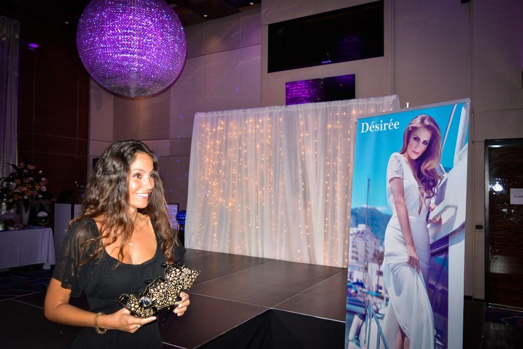 Ariana Soffici at Confeti Wedding Show - Sunborn Gibraltar www.arianasoffici.com