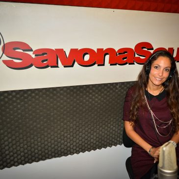 Ariana Special Guest at Radio Savona Sound