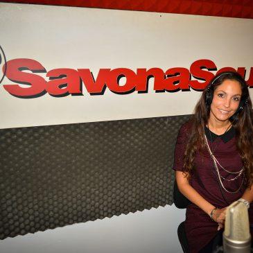 Ariana Invitada Especial a Radio Savona Sound
