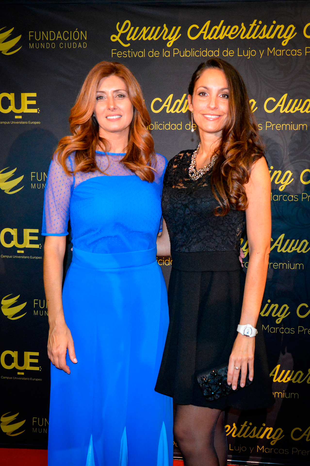 Ariana & Patricia Betancort at Luxury Advertising Awards - www.arianasoffici.com