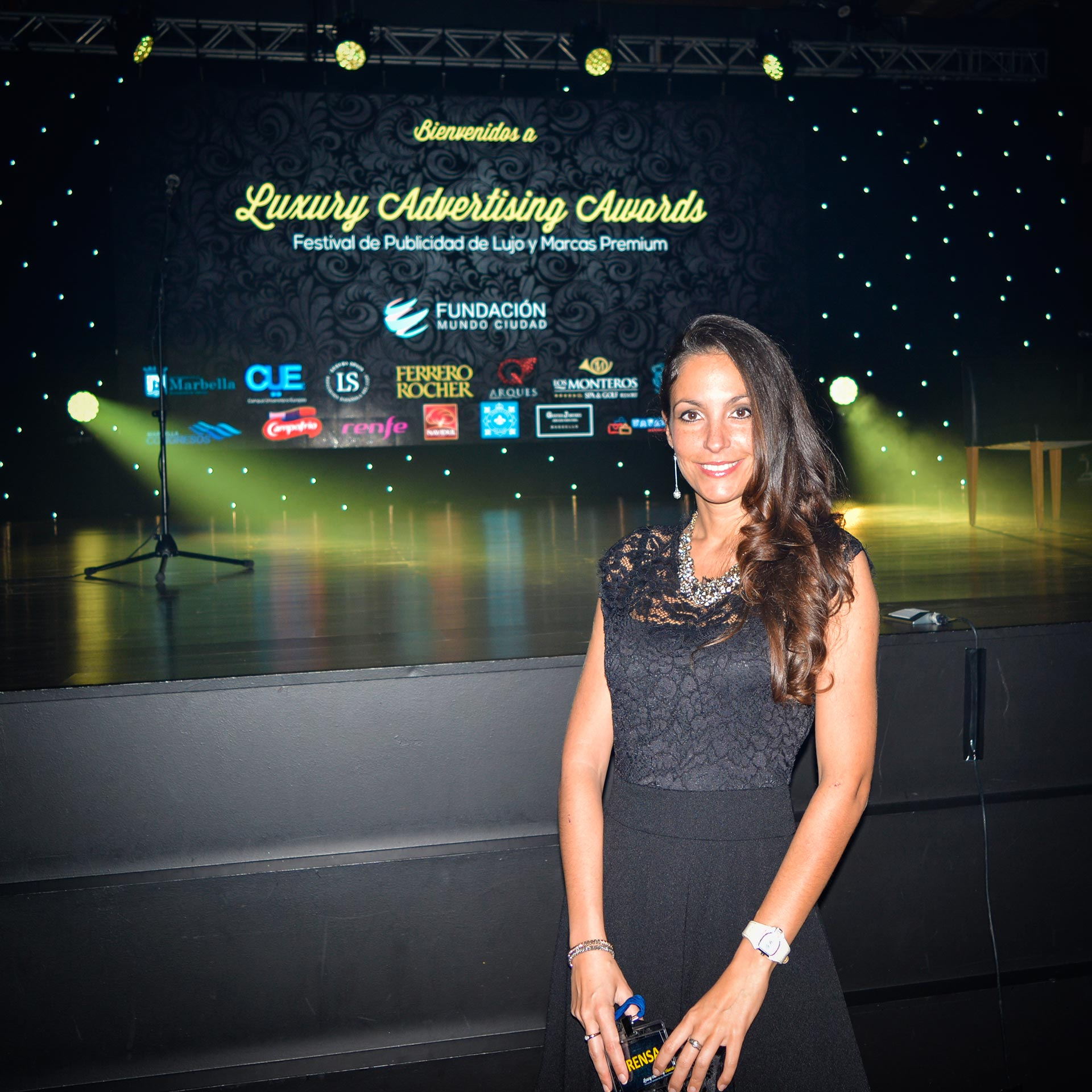 Ariana Soffici at Luxury Advertising Awards 2015