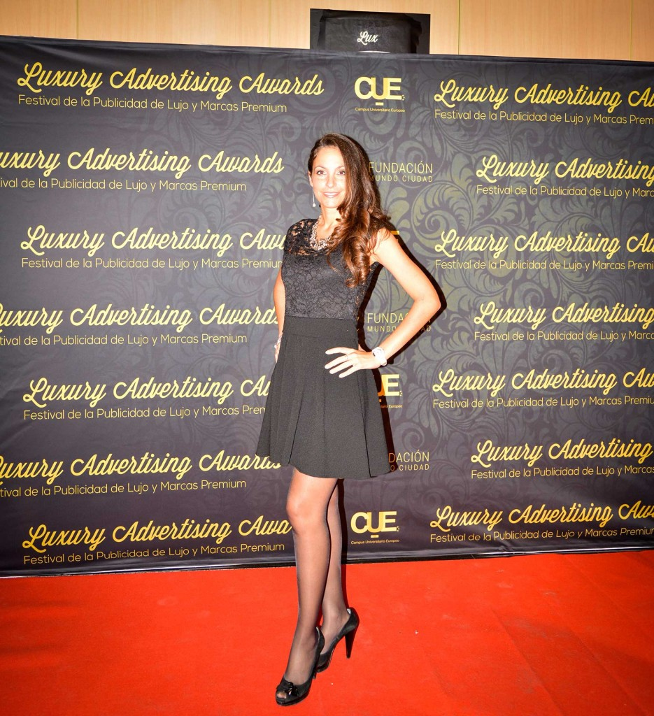 Ariana Soffici at Luxury Advertising Awards 2015