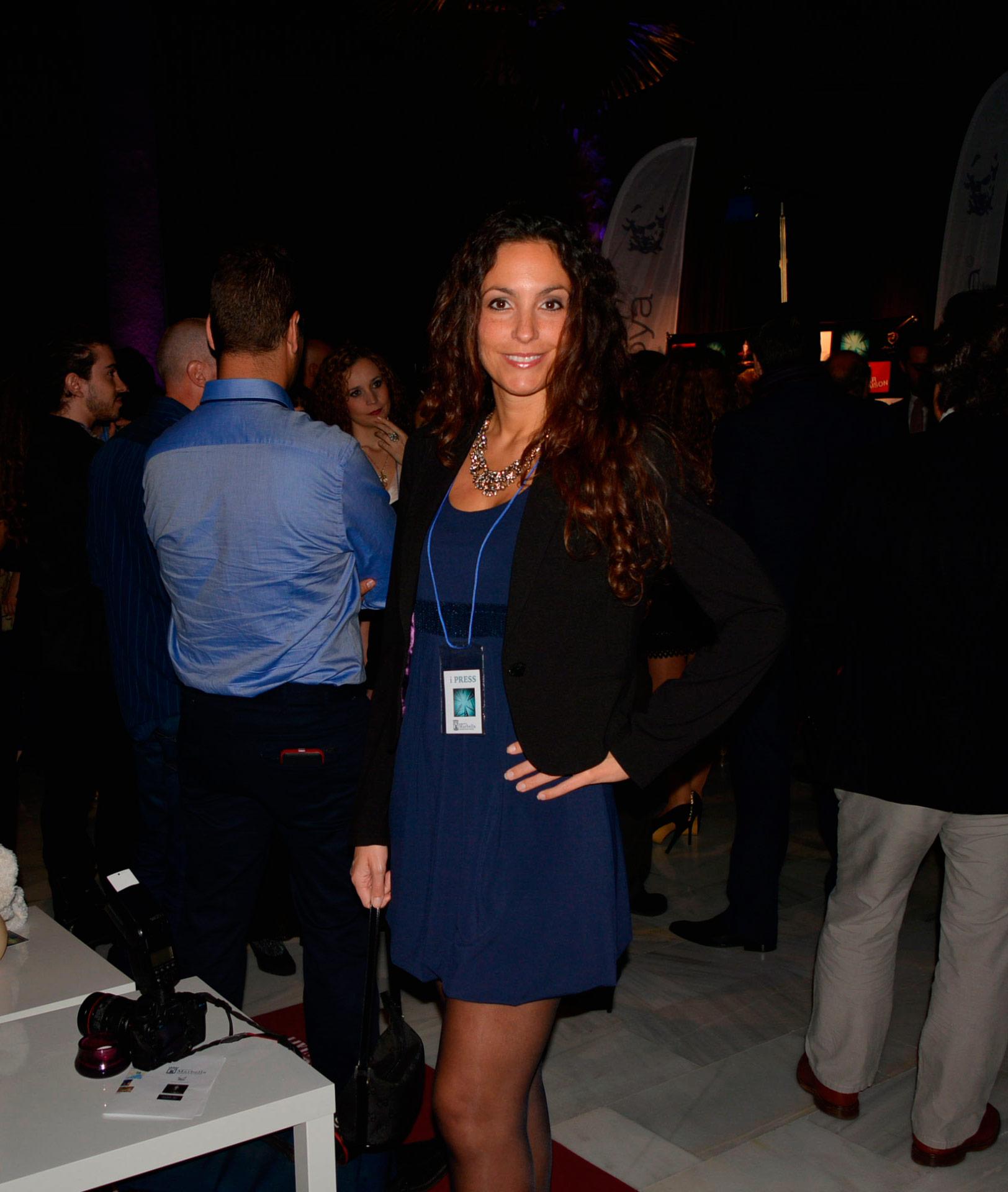 Ariana Soffici en la Gala y Entrega de Premios en el Cine y Teatro Goya de Puerto Banus www.arianasoffici.com