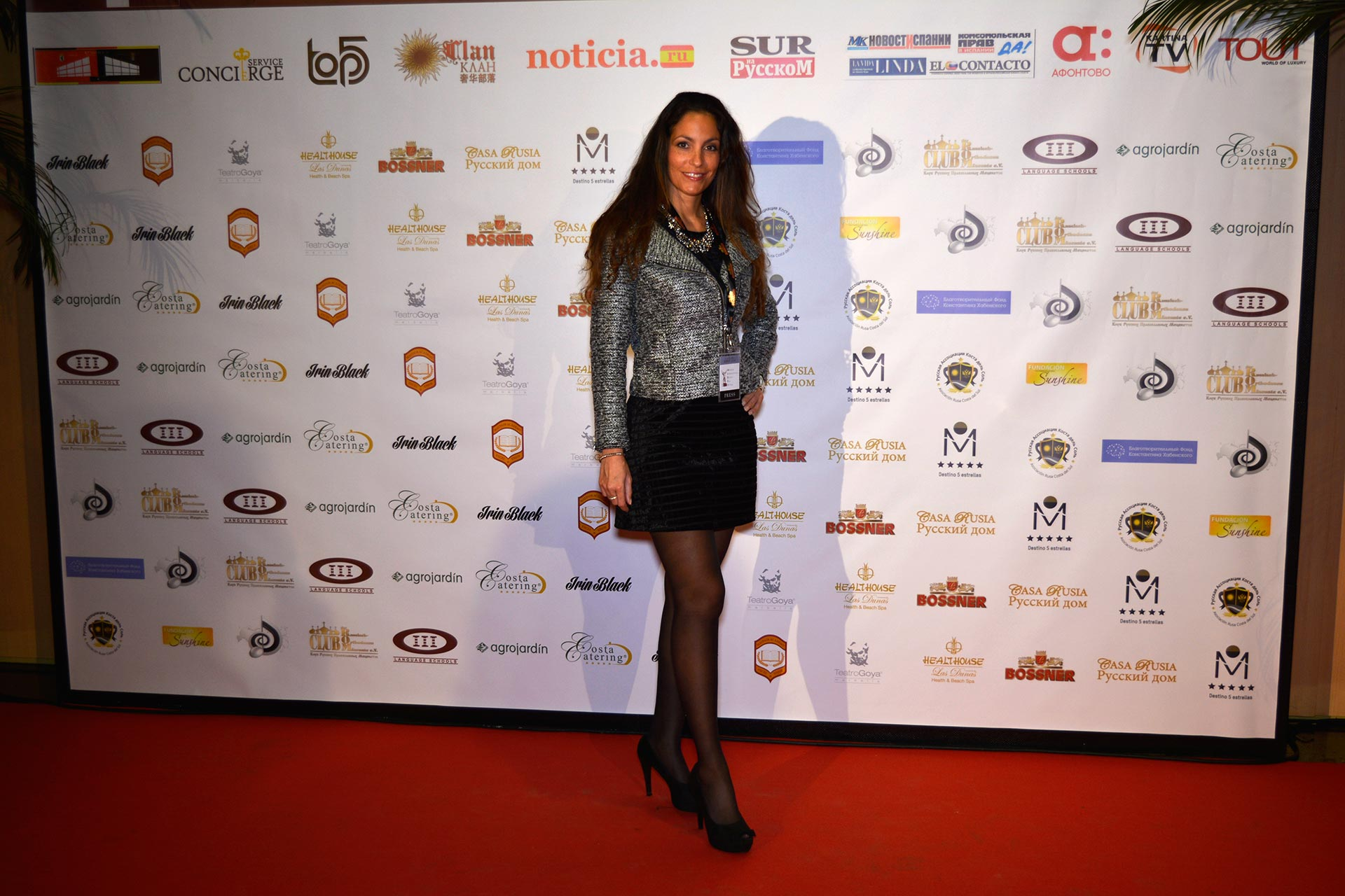 Ariana Soffici & Style Passion TV - MIRFF 2016 www.arianasoffici.com