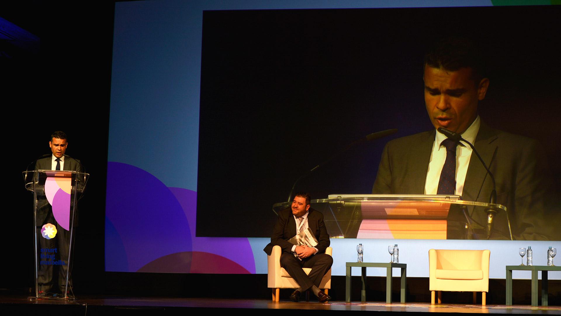 José Bernal Alcalde de Marbella - Smart Living Marbella 2016