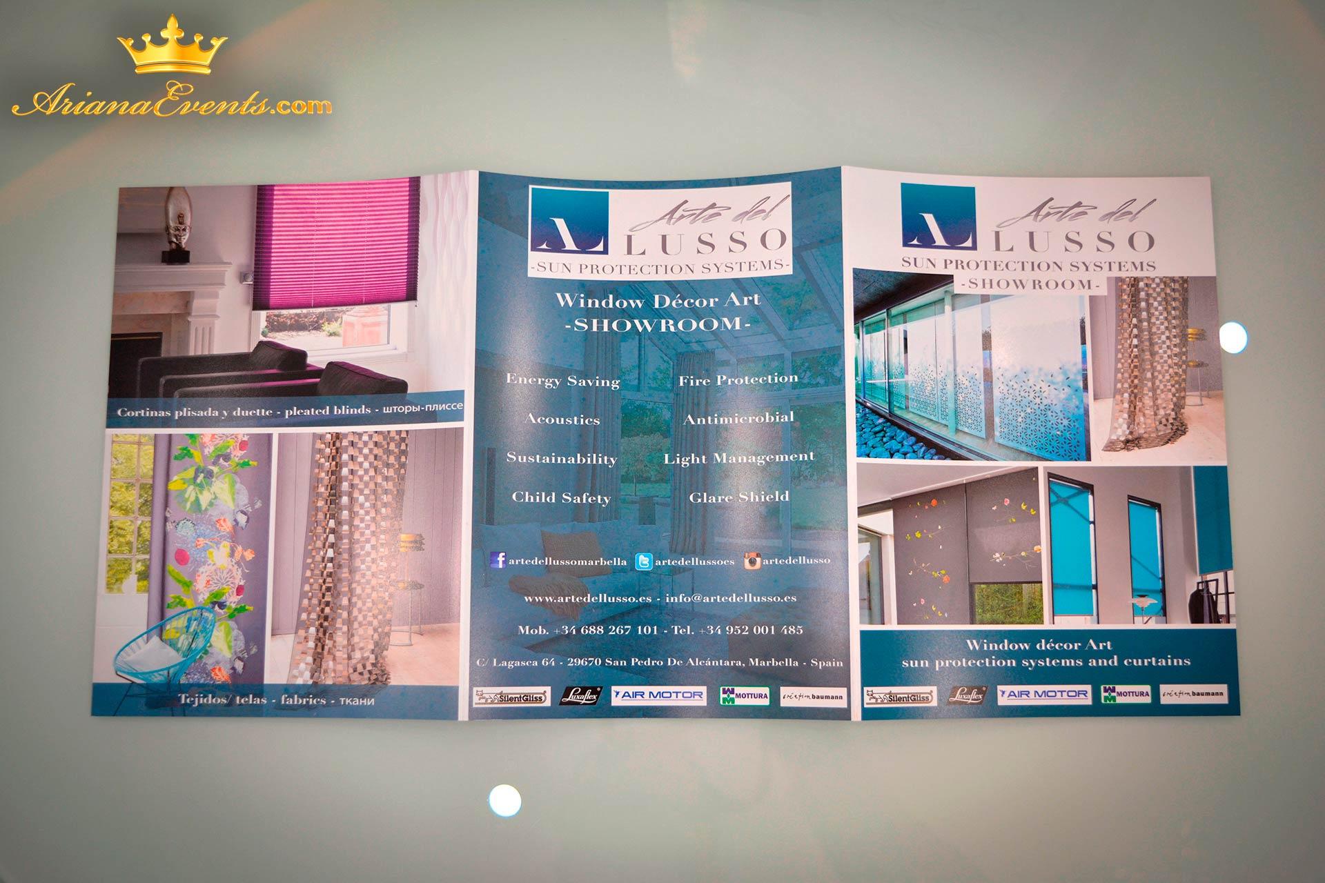 Arte del Lusso Marbella Brochure www.arianasoffici.com