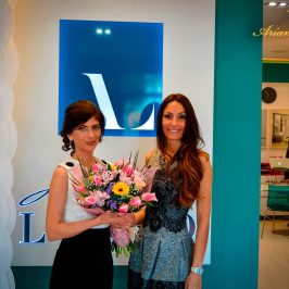 Svetlana and Ariana at Arte del Lusso Marbella Grand Opening www.arianasoffici.com