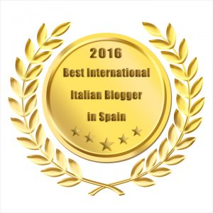 Best International Italian Blogger in Spain 2016 www.arianasoffici.com