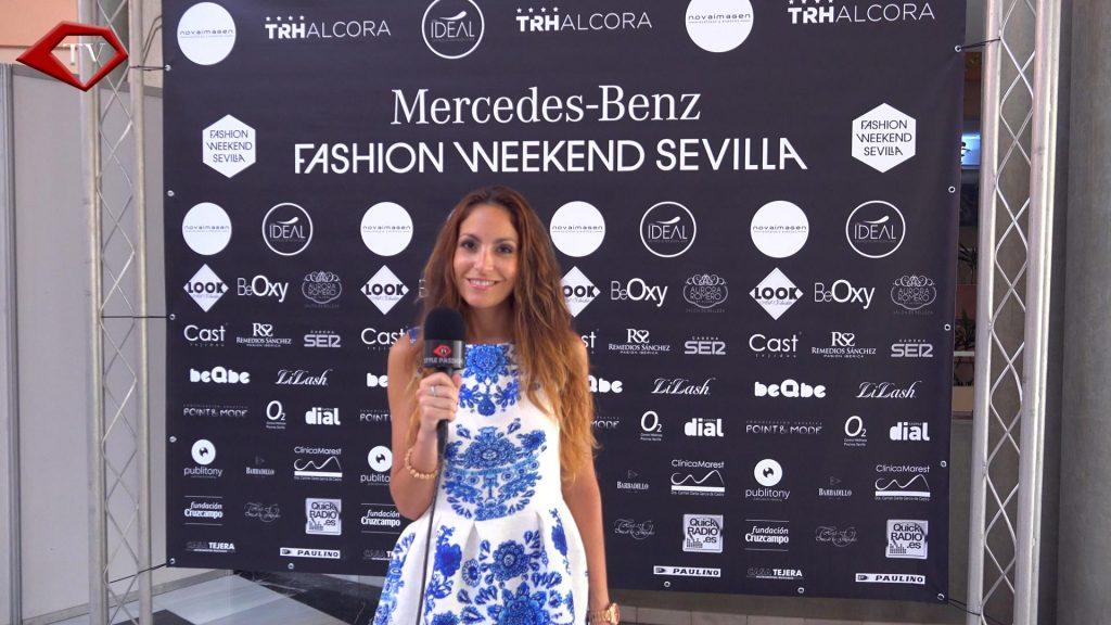 Ariana Soffici at Mercedes-Benz Fashion Weekend Sevilla www.arianasoffici.com