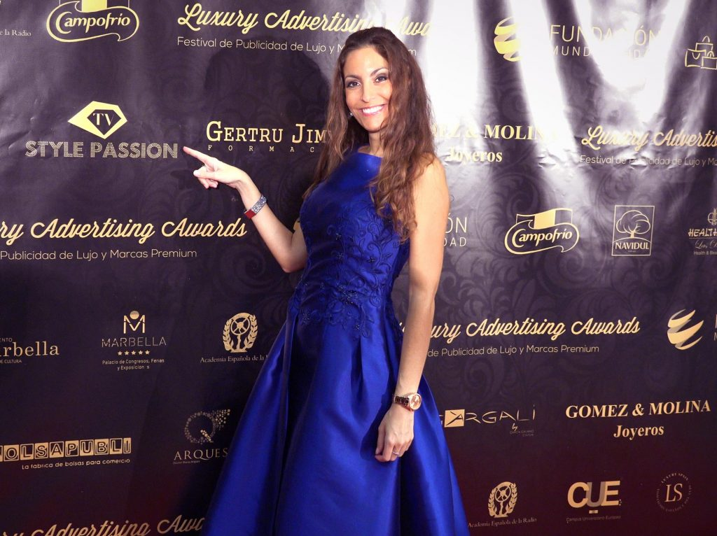 Ariana Soffici & Style Passion TV Media Partner at Luxury Advertising Awards Marbella