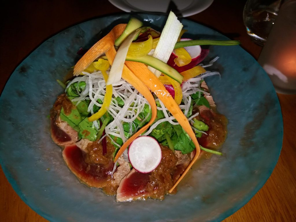 Tuna Sashimi Salad Nobu Marbella www.arianasoffici.com