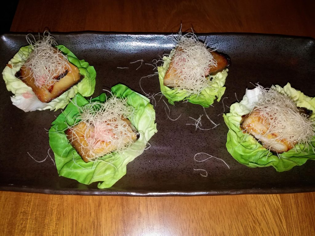 Black Code Butter Lettuce Nobu Marbella www.arianasoffici.com