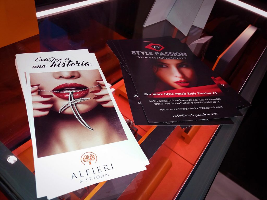 Alfieri & St John - Style Passion TV Madrid Opening