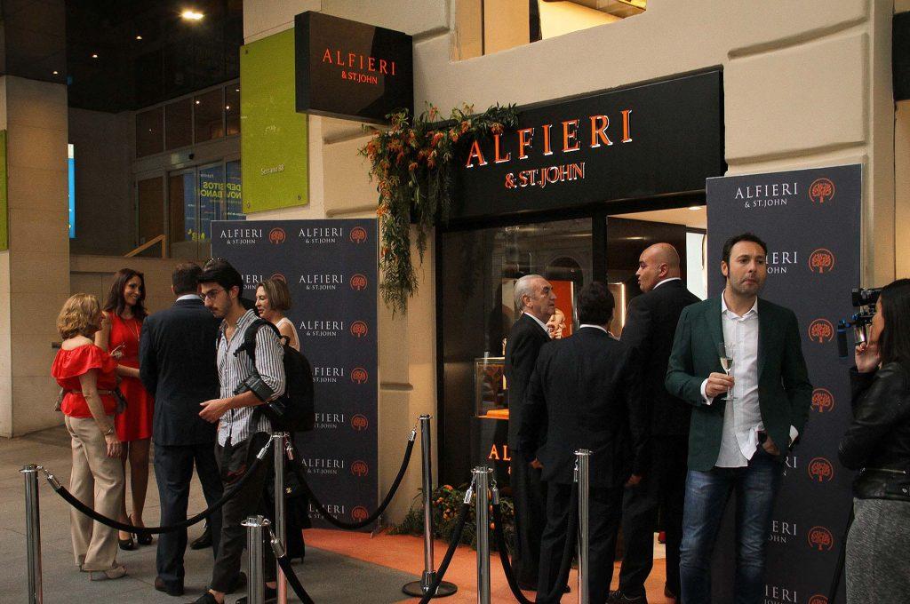Alfieri & St. John Opening Boutique Madrid