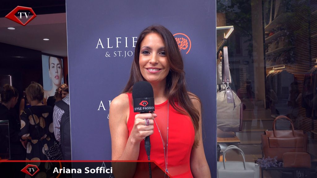 Ariana Soffici TV hostess Style Passion TV
