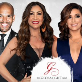 Amaury Nolasco Maria Bravo Eva Longoria Global Gift Gala