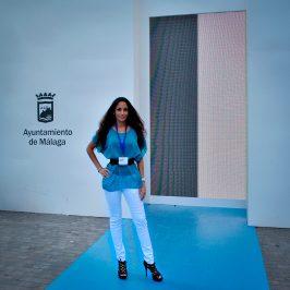 Ariana Soffici at Pasarela Larios Malaga Fashion Week 2015