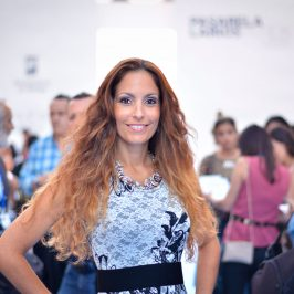 Ariana Soffici in Pasarela Larios Malaga Fashion Week 2016 www.arianasoffici.com