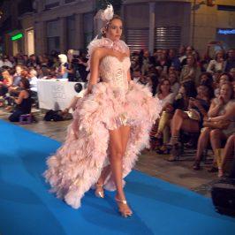 Pink Punk Lingerie by Asunció Retamero en Malaga Fashion Week www.arianasoffici.com